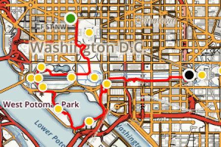 map washington dc monuments map of usa » Free Wallpaper for MAPS ...
