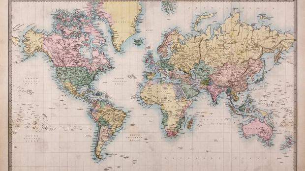 Australia is moving  and world maps have yet to catch up