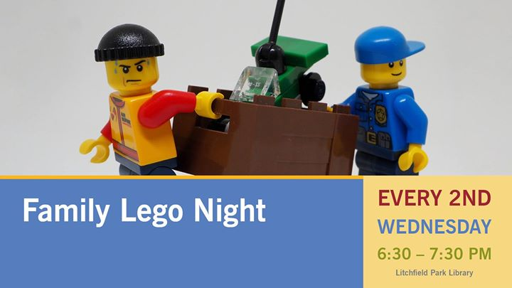 Family Lego Night at Litchfield Park Library  Litchfield Park Advertisement