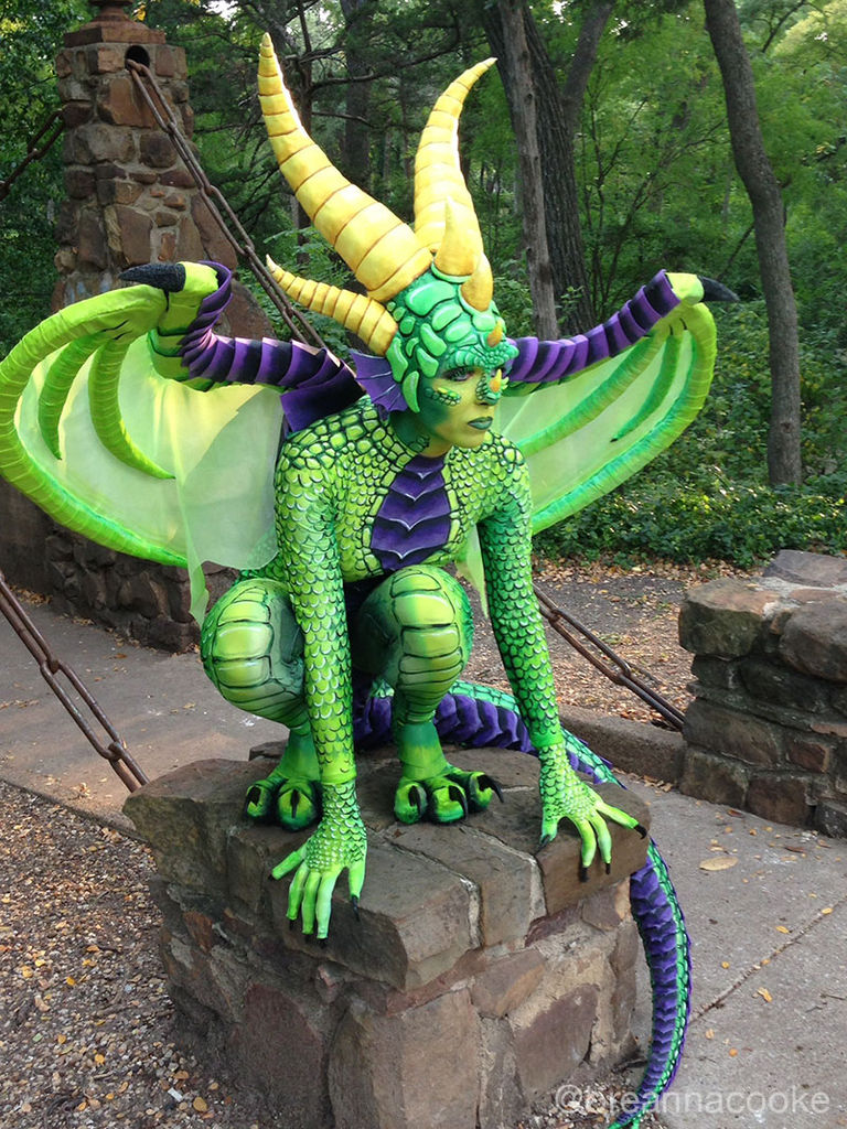 Handcrafted Dragon Cosplay Will Make You Believe