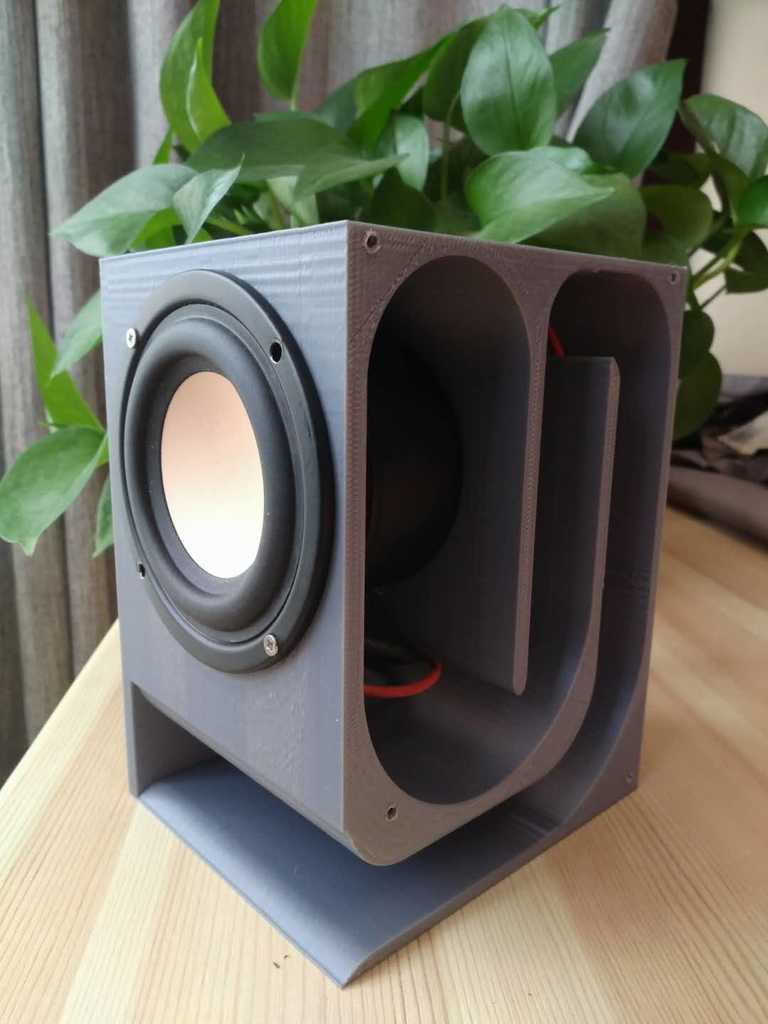 Speaker Maze Audio Box By Iiime 3dthursday 3dprinting