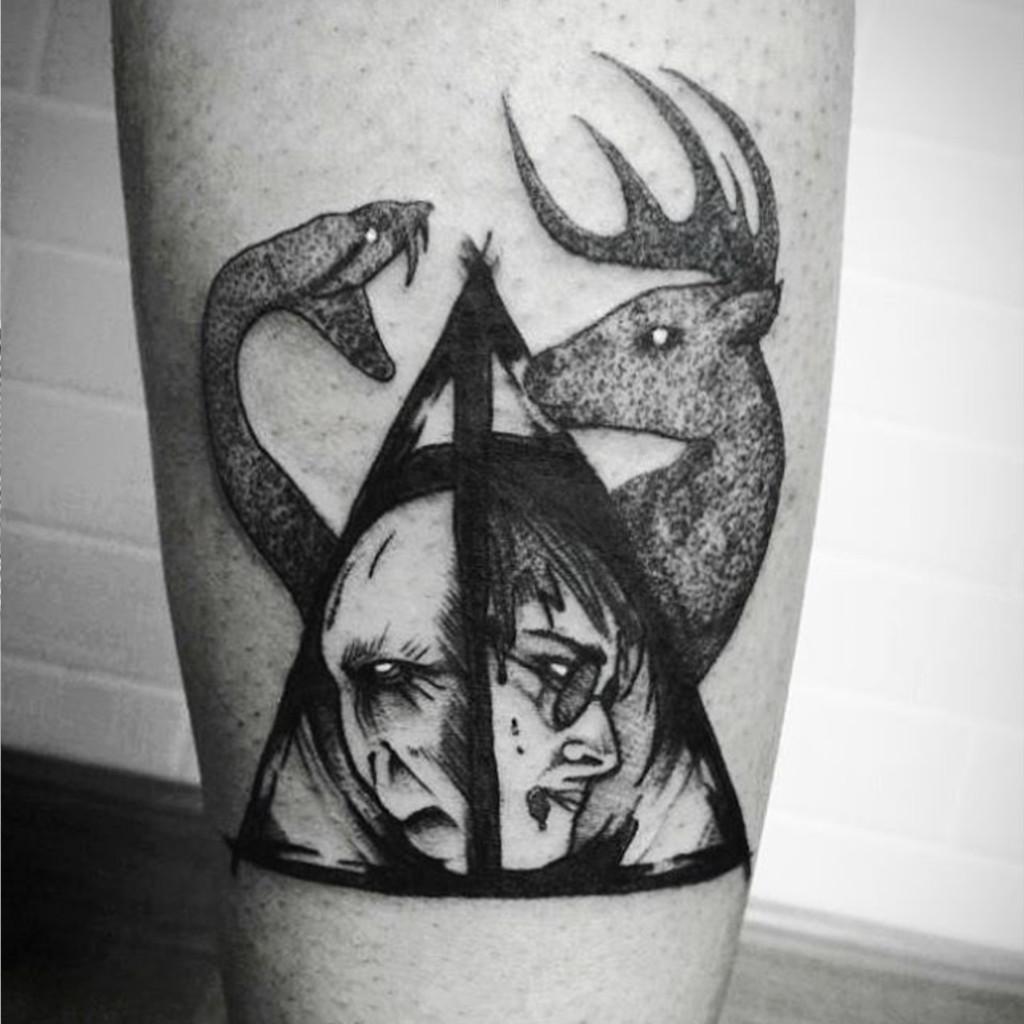Tatouage Harry Potter Et Voldemort 20 Tatouages Pour