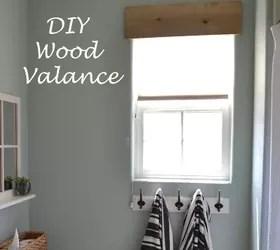 Diy Simple Wooden Valance Hometalk
