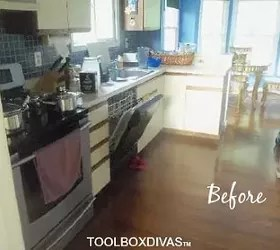 900 Bright DIY Kitchen Update   Hometalk 900 bright diy kitchen update  home improvement  kitchen backsplash  kitchen  cabinets  kitchen