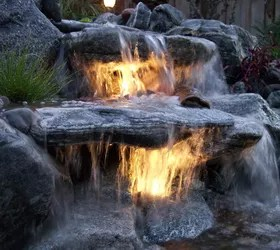 Yard Ponds And Waterfalls