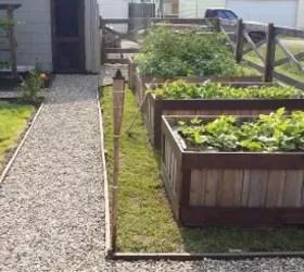 Raised Vegetable Garden Pallets