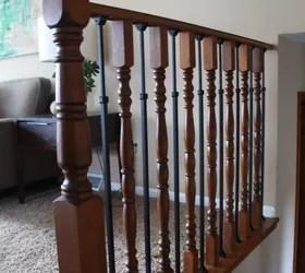 Stair Railing Makeover Diy Baluster Hometalk