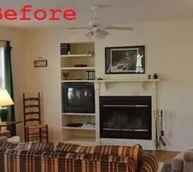 Fixed An Off Center Fireplace Hometalk