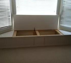 Bay Window Flip Top Storage Bench Hometalk