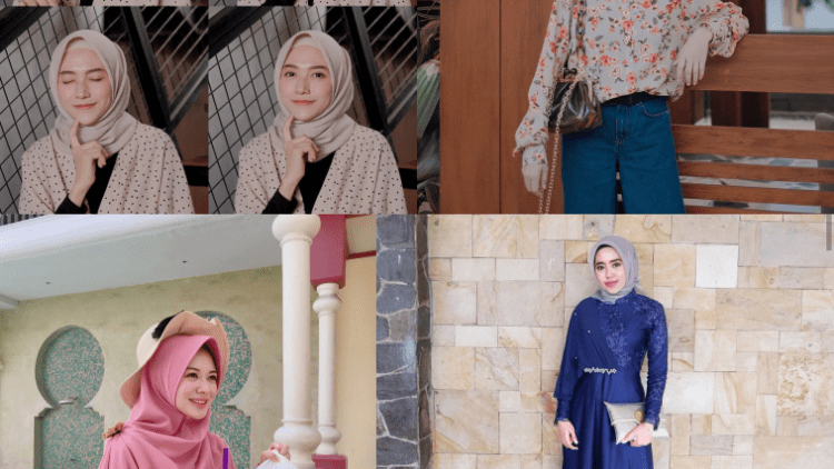 Model Baju Hijab Jaman Now 12
