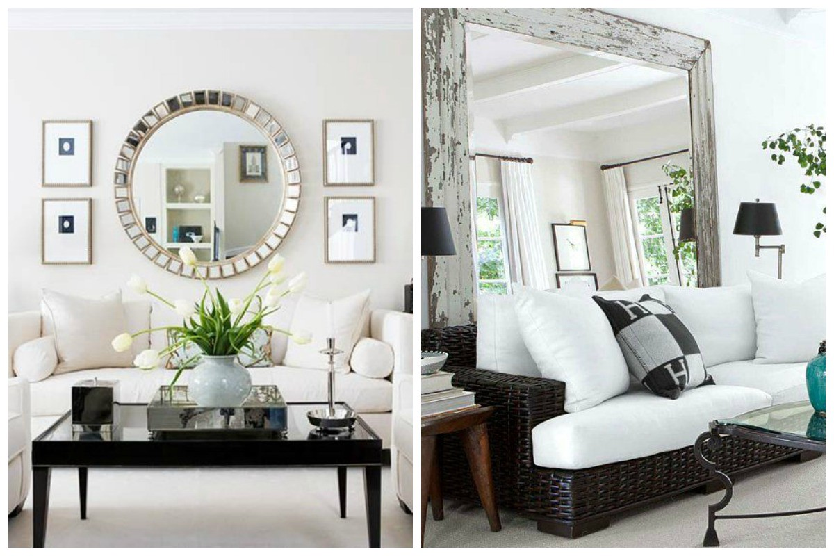 Multiple Mirror Wall Ideas