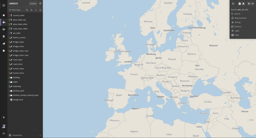 Build rich map experiences with Mapbox and React                   Note  Having an highly customisable map is only possible because of the  vector tiles which bring more flexibility when it come to play with the  different