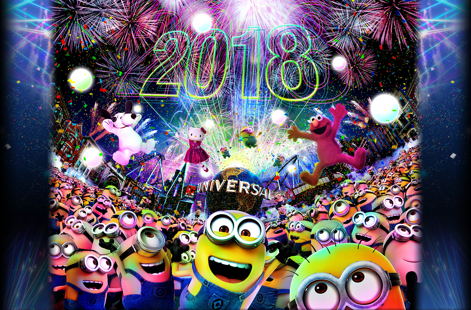 5 Best New Year Countdown Events 2017   2018 in Japan UNIVERSAL COUNTDOWN PARTY 2018 at UNIVERSAL STUDIO JAPAN