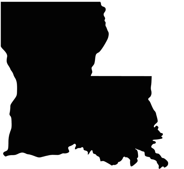 Louisiana, the Boot-Shaped State, Isn't Shaped Like a Boot ...