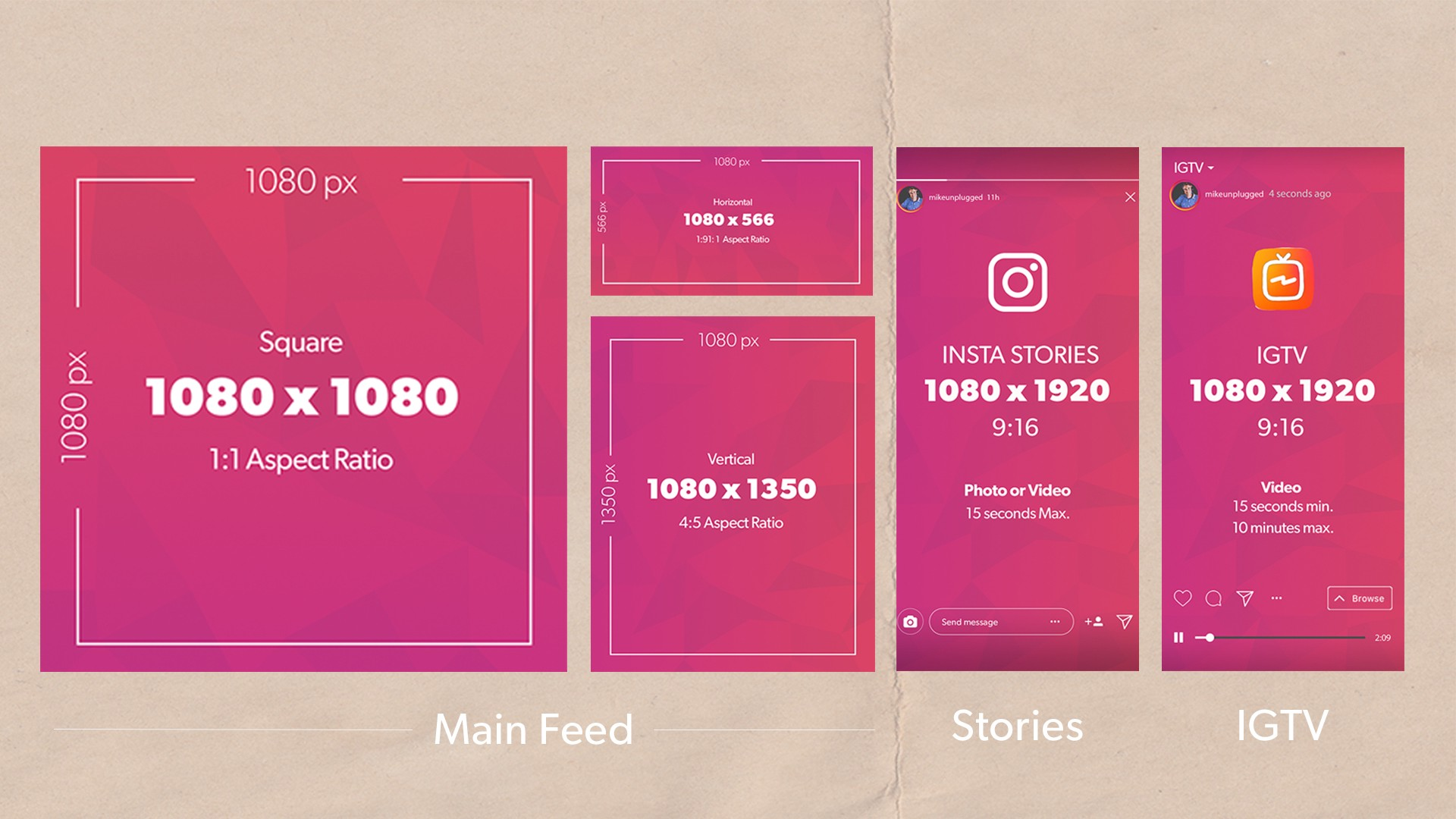 instagram picture dimensions - HD1600×900
