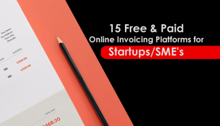 15 FREE   PAID ONLINE INVOICING PLATFORMS FOR STARTUPS SME S We all know that invoice is must for online and Offline sales  Keeping  invoices is necessary for an annual tax checkup  and it also helps your  business to