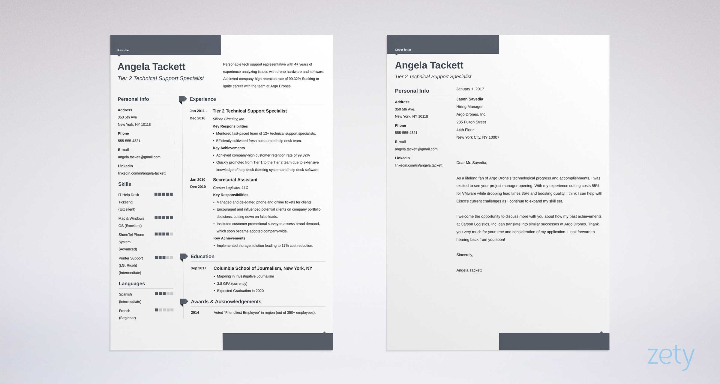 Free Resume Templates  17 Downloadable Resume Templates to Use elegant cover letter and resume templates