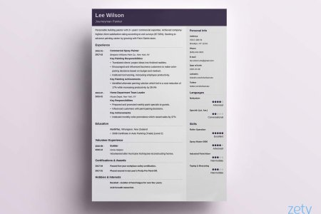 One Page Resume Templates  15 Examples to Download and Use Now bad and good resume templates comparison