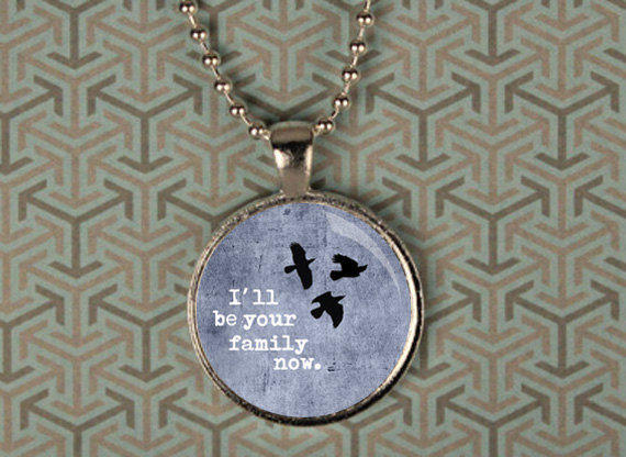 Divergent Three Ravens Pendant Necklace from ...