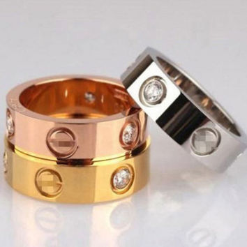 Cute couple rings women ring  Cartier  from Summer11 Cute couple rings women ring  Cartier  rhinestone ring on simplicity