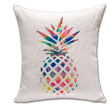 Best Pineapple Home Decor Products on Wanelo Home Decor Soft Comfortable Cotton Pineapple Pillow