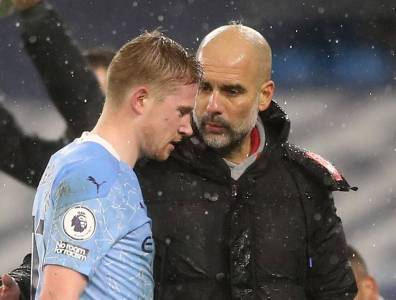 Man City Manager Pep Guardiola Calls For Fewer Teams In Premier League |  The Japan Times