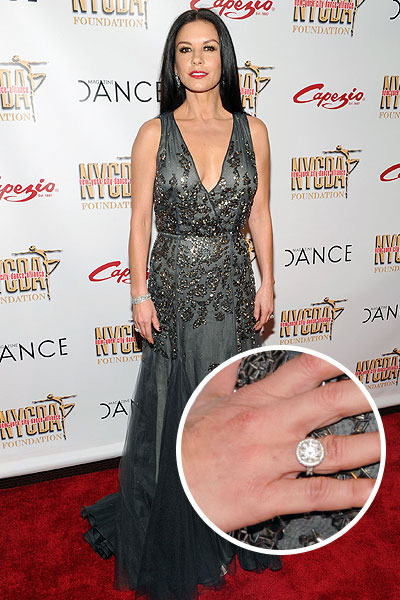 Wedding Ring Zeta Jones Catherine
