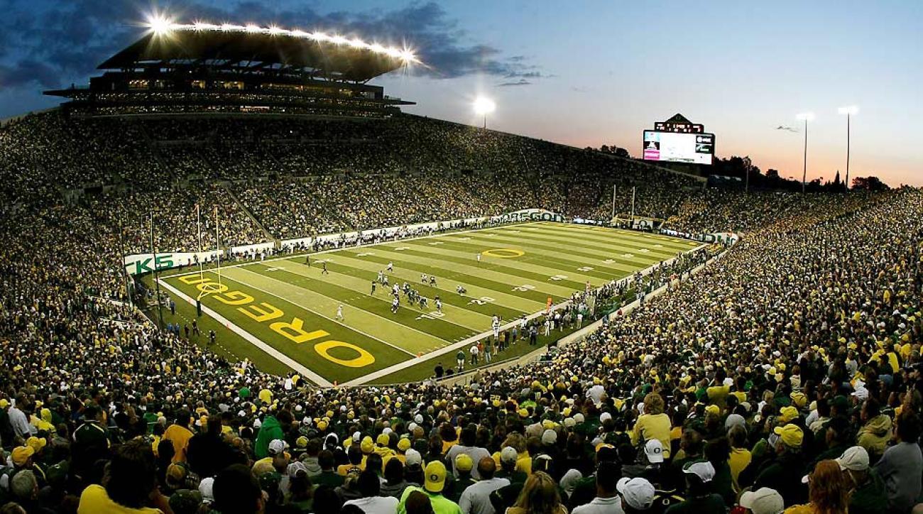 University Football Oregon