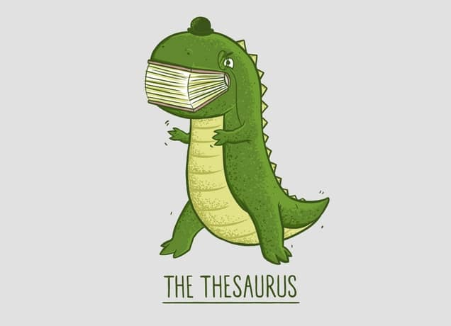 The Thesaurus by Darel Seow | Threadless