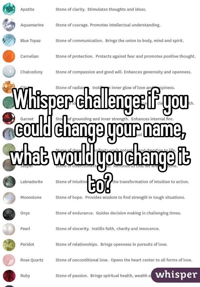 Funny Whisper Challenge Sentences