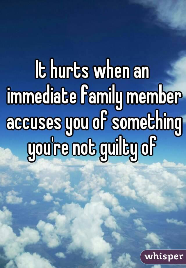 Members Quotes About Family Hurting
