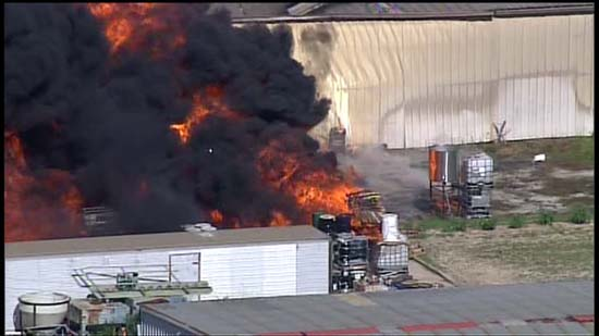 Chemical Tainted Creek Concerns Residents After Fire In