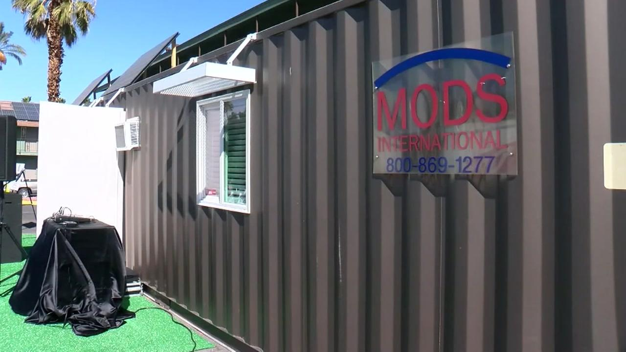 Best Kitchen Gallery: Tiny House Village' Aims To Turn Shipping Containers Into Affordable of Shipping Container Wedding on rachelxblog.com