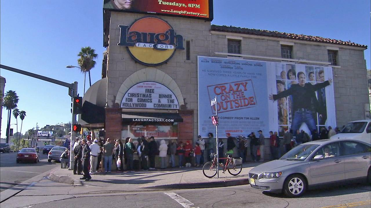 Laugh Factory Hollywood Address