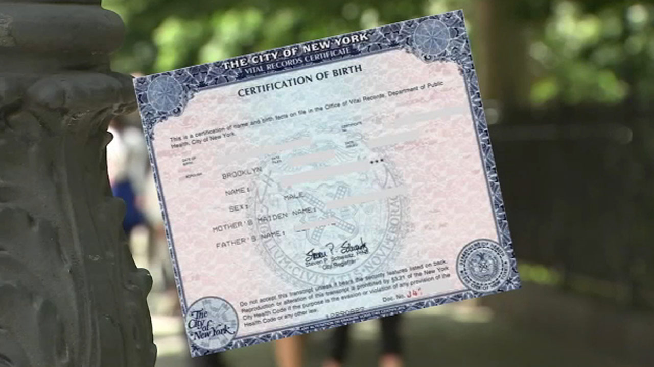 Certificates New York City