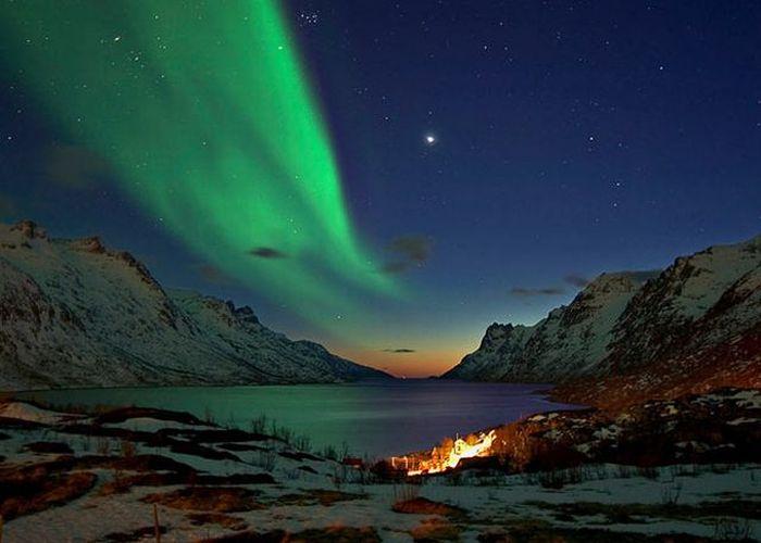 Northern Lights Canada November