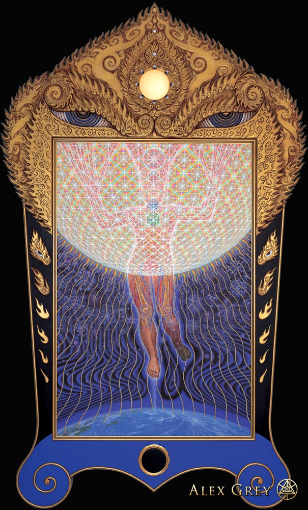 Transfiguration Alex Grey