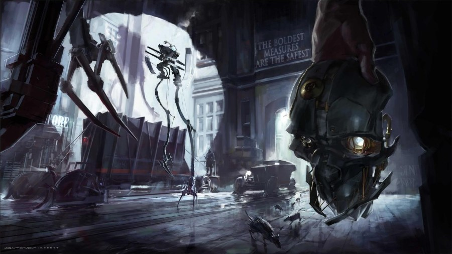Video games robots dishonored game art wallpaper   AllWallpaper in     Video games robots dishonored game art wallpaper