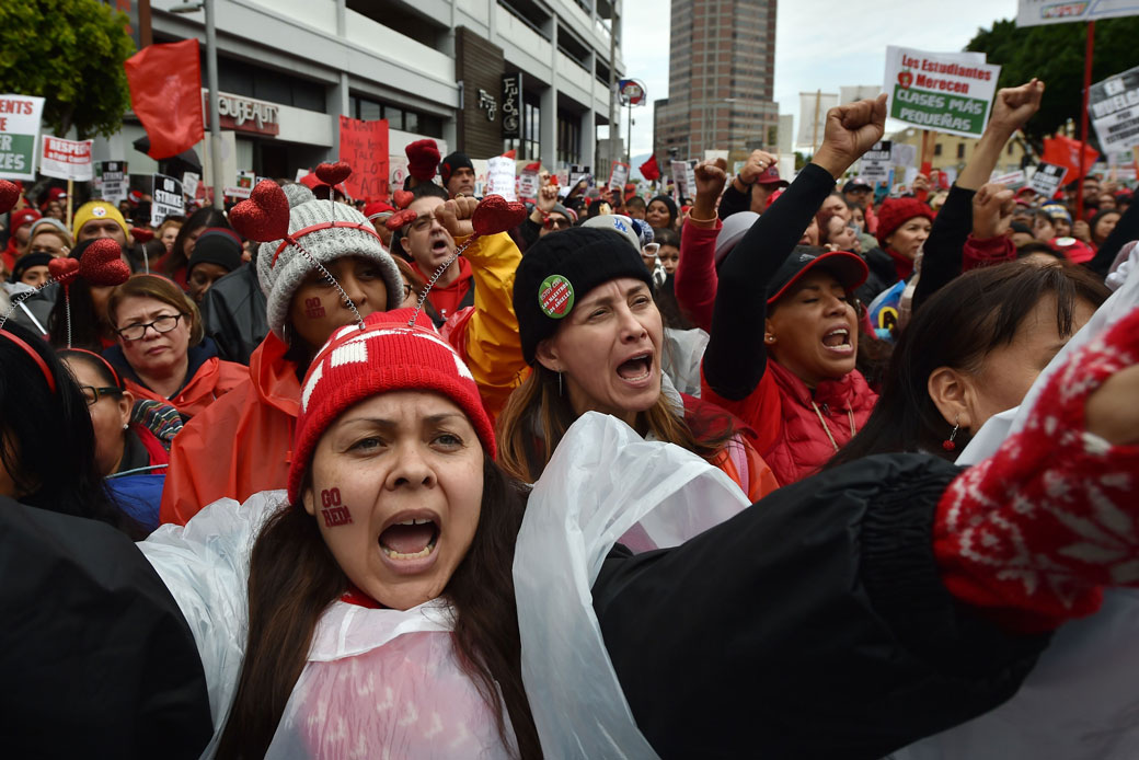 Strikes Driving Change in States With Lowest-Paid Teachers ...