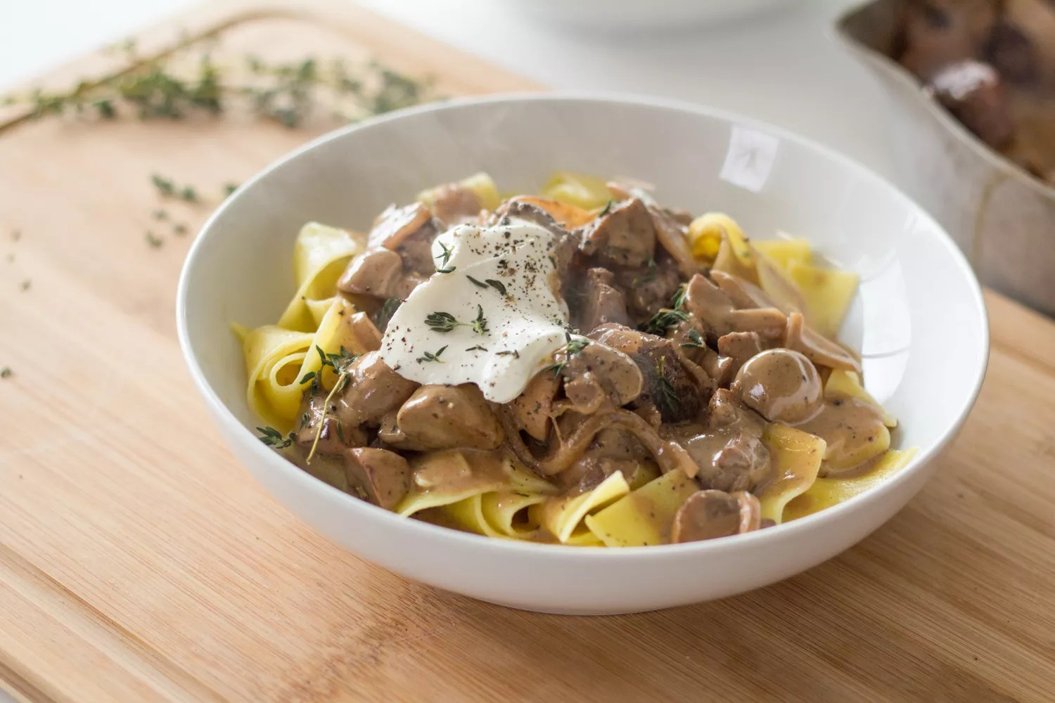 Sous Vide Short Rib Beef Stroganoff From Anovafooderd