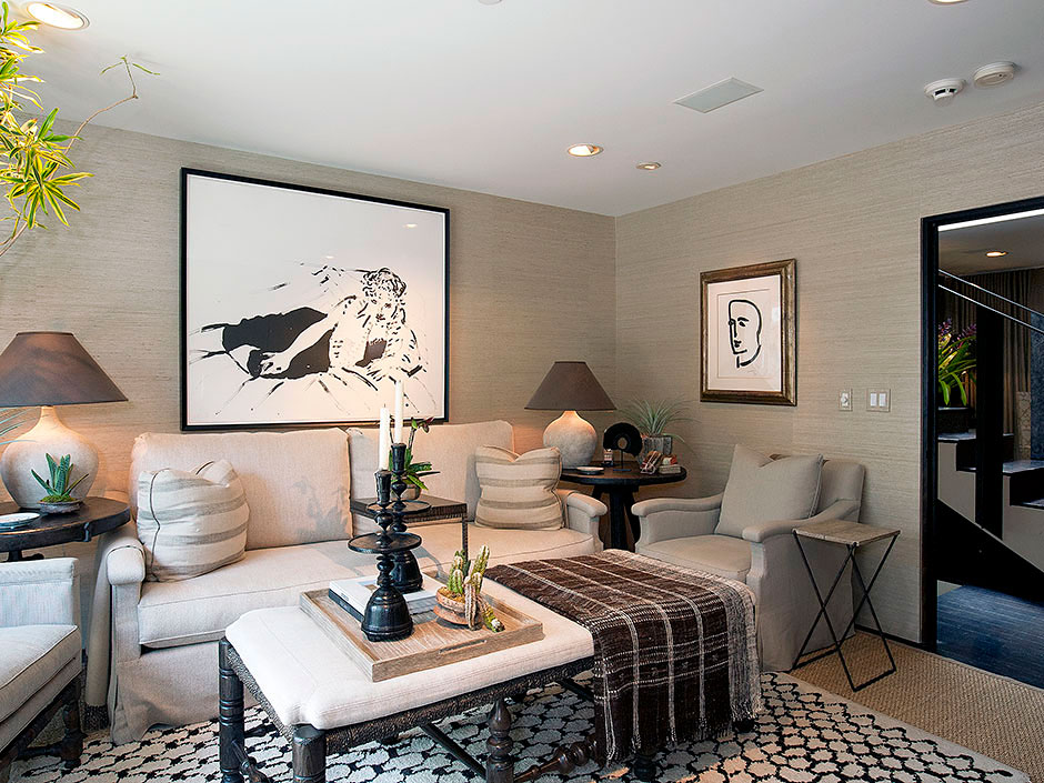 Contemporary Meets Traditional On Sunset Strip