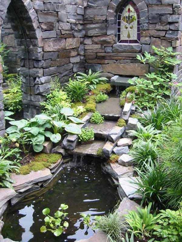 Building Garden Pond