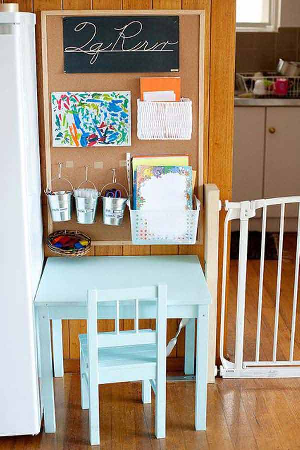 24 Adorable And Practica Homework Station Ideas That Your