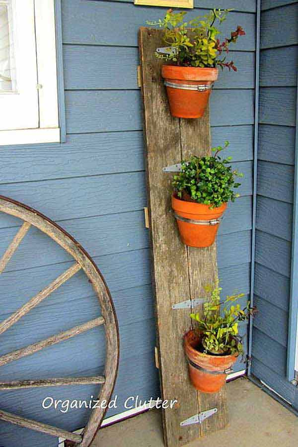 Unusual Outdoor Planters