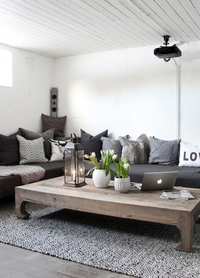 20 Super Modern Living Room Coffee Table Decor Ideas That