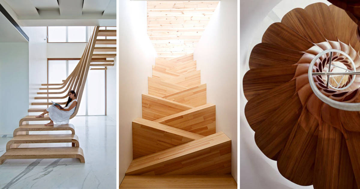 20 Beautiful Stairs That Will Make Climbing To The Second