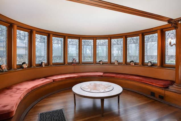 Frank Lloyd Wright s William Winslow House Up For Sale in Suburban      William Winslow House Listing courtesy of MRED   Jameson Sotheby s Intl  Realty