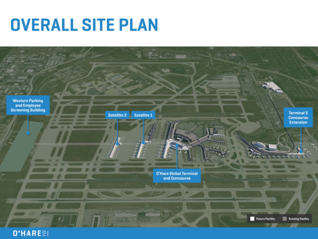 Chicago Culls Its O Hare Expansion Shortlist To Five Big
