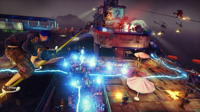Sunset Overdrive Review Ride The Rails To Kaboom Town