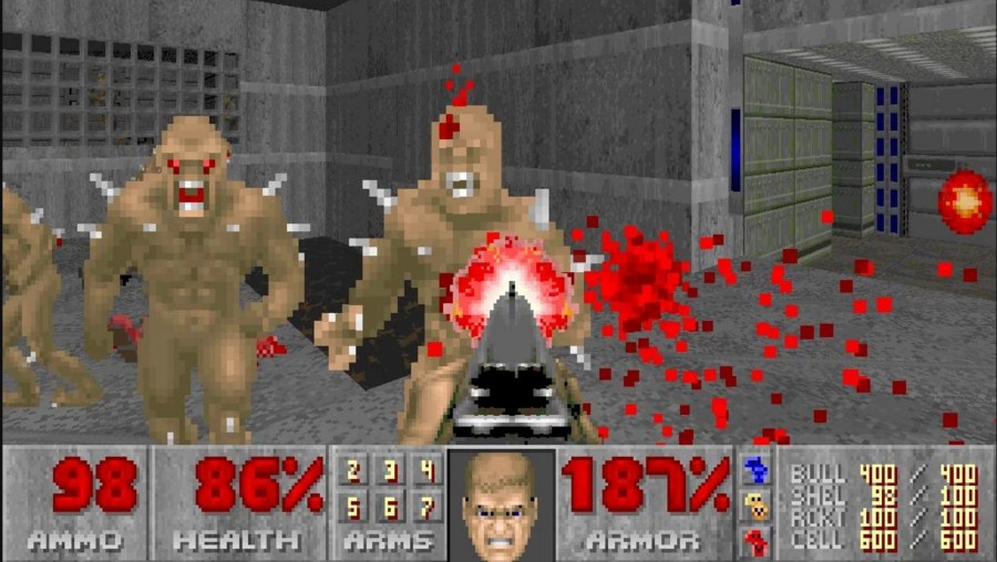 The original Doom  one of 64 Objects that shaped video game history     Enlarge   Cutting edge at the time  we swear